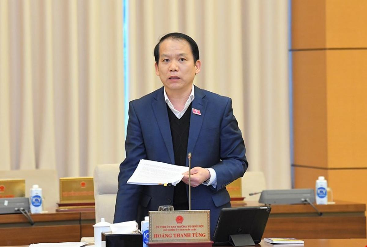 Chủ nhiệm Ủy ban Pháp luật Hoàng Thanh Tùng