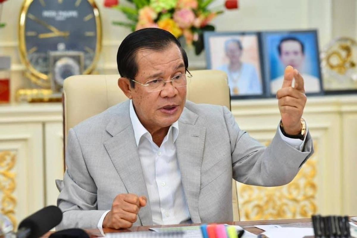 Thủ tướng Campuchia Hun Sen. Ảnh: FB Thủ tướng Hun Sen