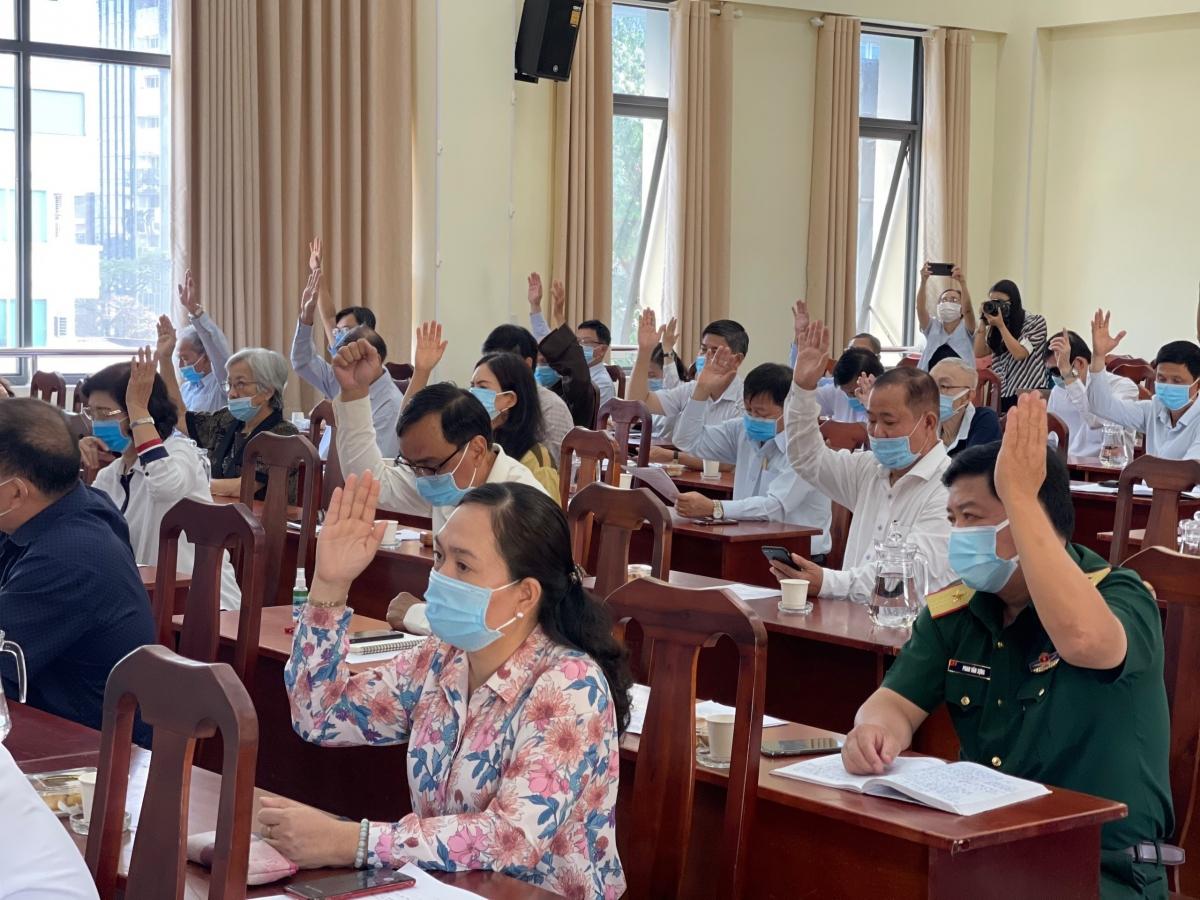 Buổi hiệp thương lần thứ nhất thỏa thuận về cơ cấu, thành phần, số lượng người được giới thiệu ứng cử đại biểu Quốc hội khóa XV nhiệm kỳ 2021-2026 diễn ra sáng 9/2/2021 tại TPHCM