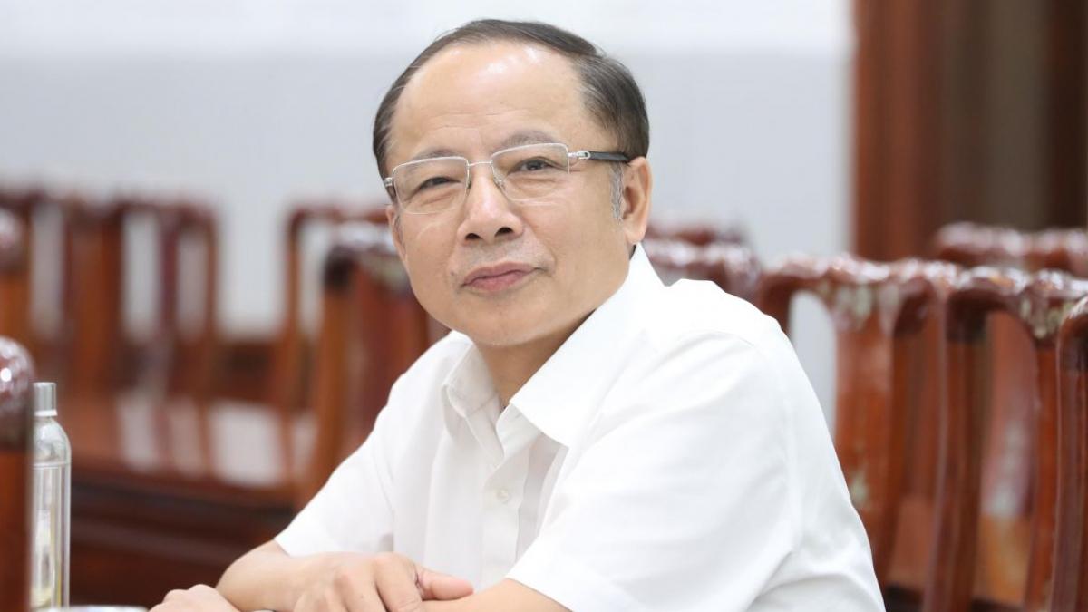 Ông Nguyễn Văn Thân, Chủ tịch Hiệp hội doanh nghiệp nhỏ và vừa Việt Nam. (Ảnh: KT)