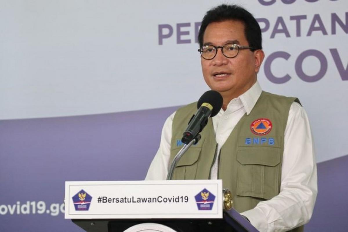 Ông Wiku Adiasmito, phát ngôn viên của lực lượng đặc nhiệm Covid-19 Indonesia. Nguồn: Cơ quan quản lý thảm họa quốc gia