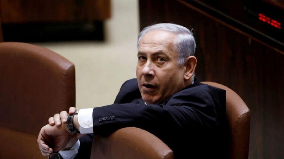 Israel điều trần Thủ tướng Netanyahu. Ảnh Reuters.