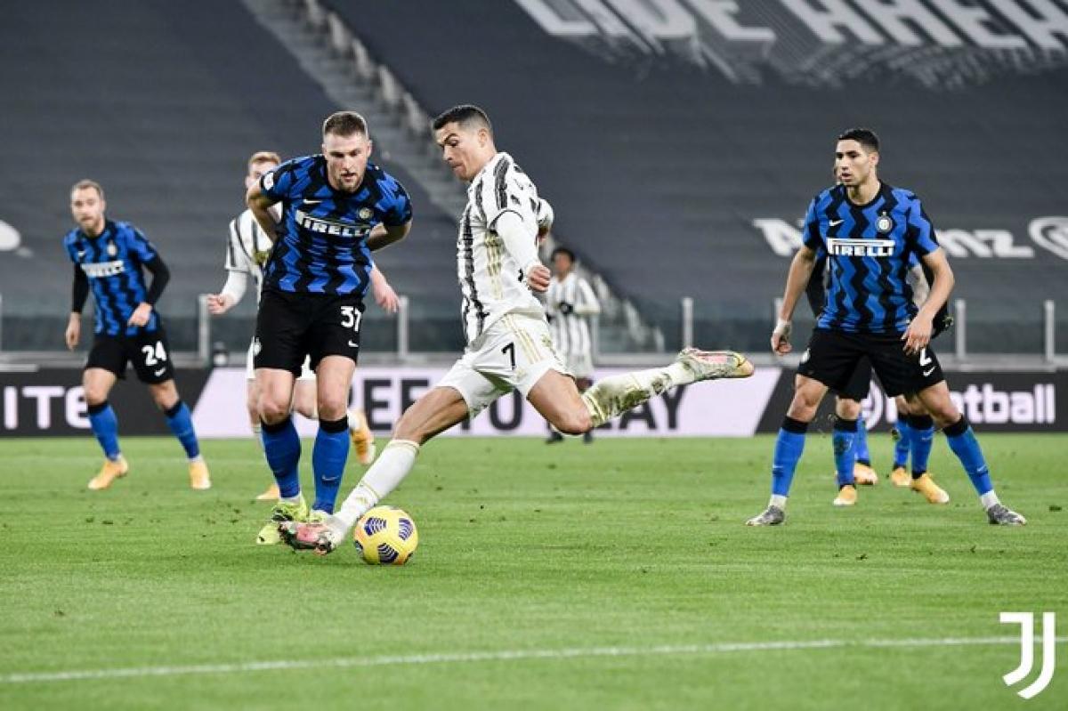 Cristiano Ronaldo là người hùng đưa Juventus vào chung kết Coppa Italia. (Ảnh: Juventus)
