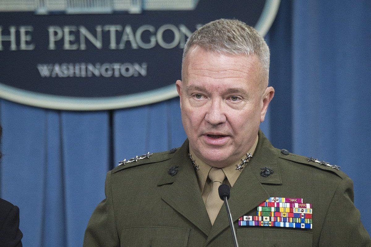 Tướng Kenneth McKenzie. Ảnh: Middle East Monitor