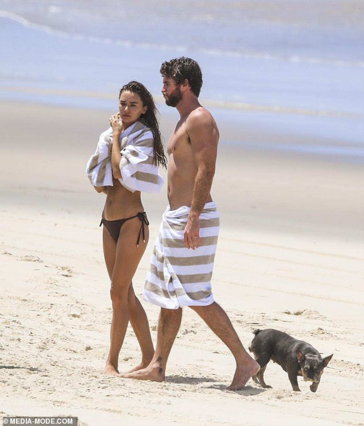 Liam có nhiều thời gian bên bạn gái trong năm qua khi anh ở nhà tránh dịch./.