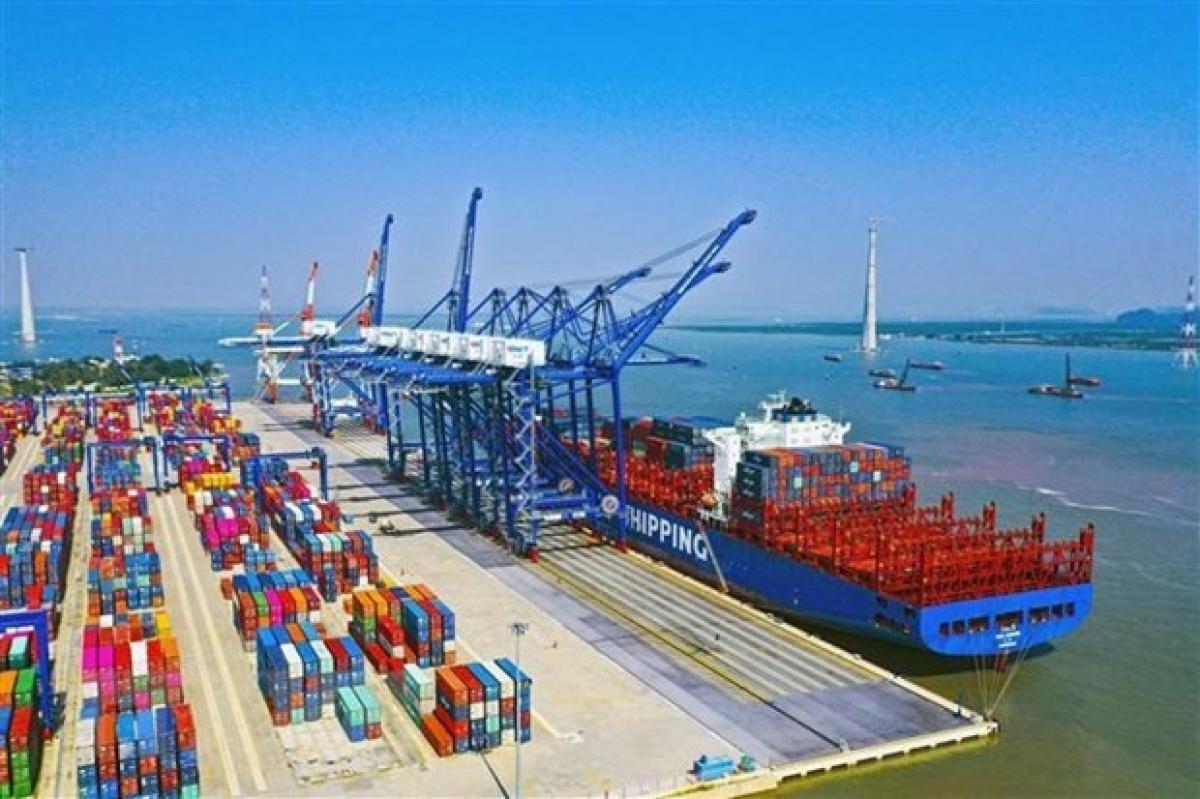 Lach Huyen ports in Hai Phong