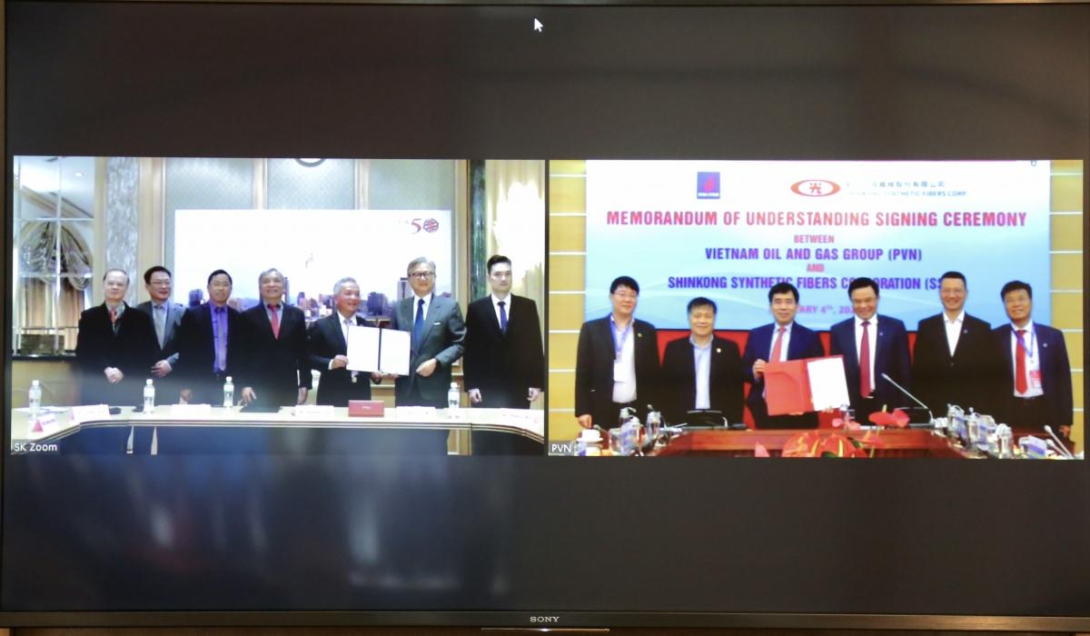 Lễ ký hợp tác trực tuyến giữa Petrovietnam và SSFC