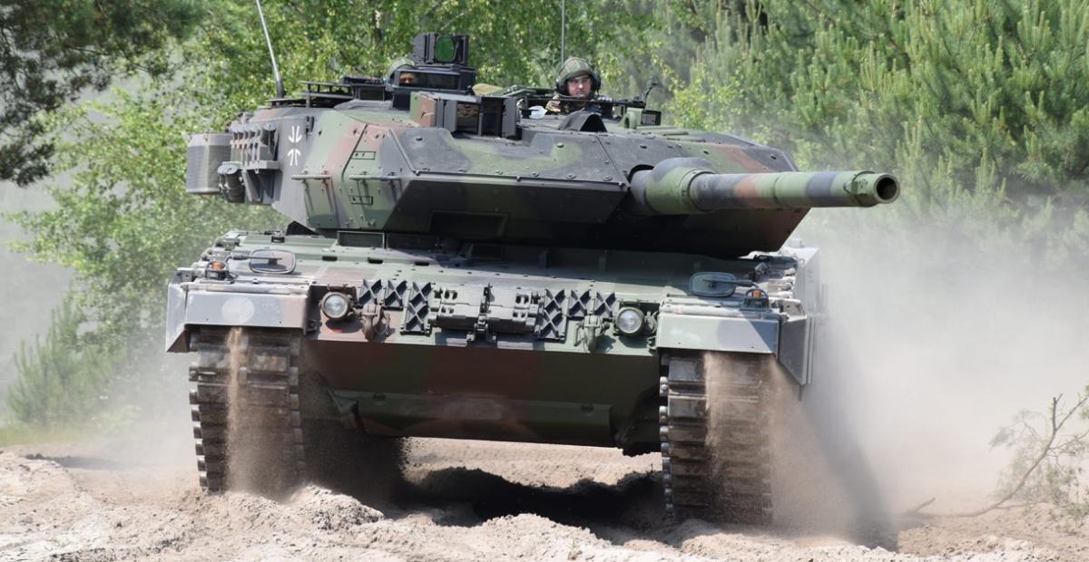 Xe tăng Leopard 2 của Đức. Ảnh: Kmweb