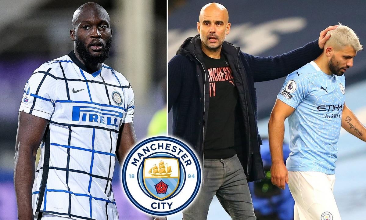 Romelu Lukaku trở lại Manchester để khoác áo Man City? (Ảnh: Daily Mail)