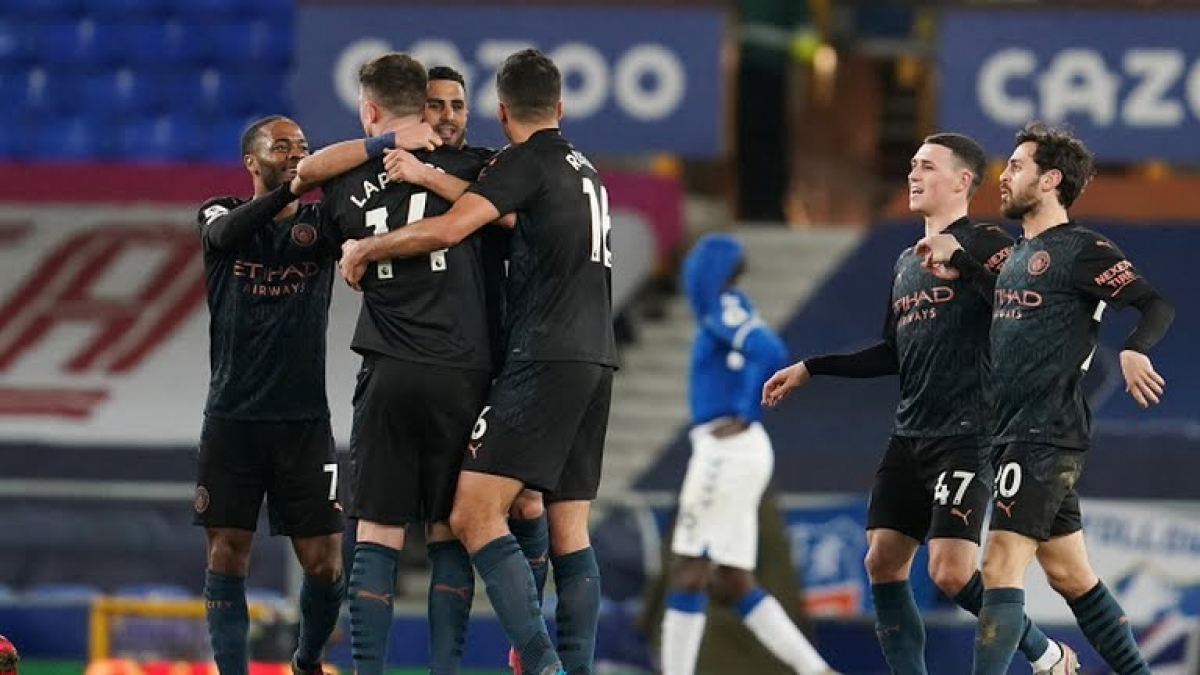 Man City chơi bùng nổ trong hiệp 2 để giành chiến thắng chung cuộc với tỉ số 3-1 (Ảnh: Reuters).