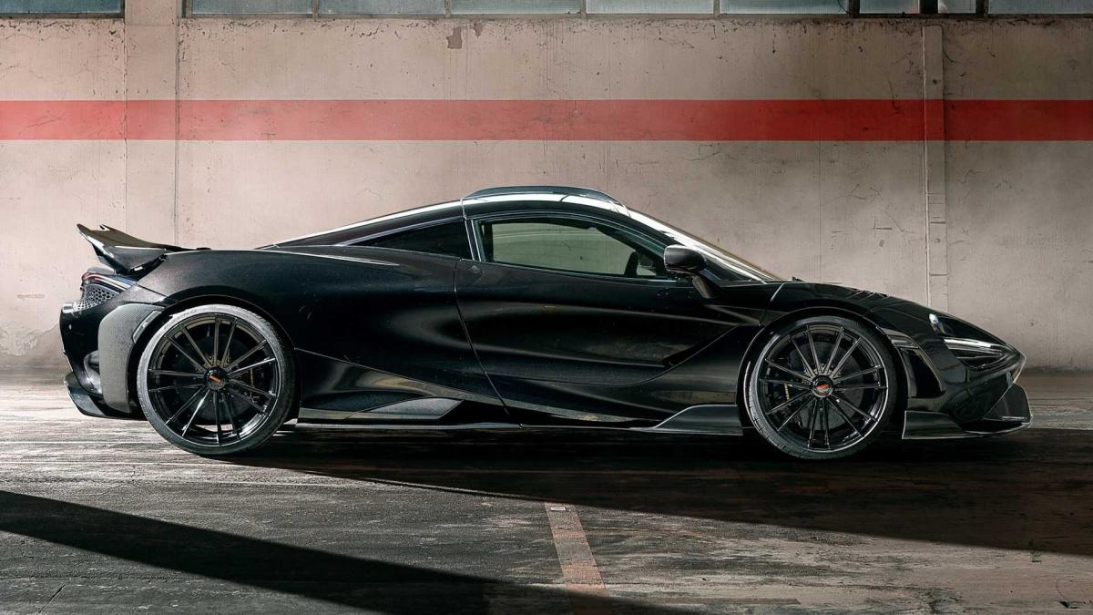 Giống với bản độ N-Largo trước đây của 720S, Novitec vẫn sử dụng bộ mâm MC3 kích thước 20 inch và 21 inch cho bản độ của McLaren 765LT. Khách hàng có thể lựa chọn đến 72 màu mâm khác nhau cho chiếc xe của mình.