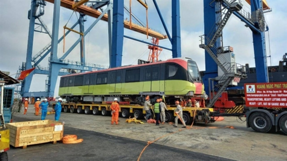 At present, the other seven trains are now in the process of being manufactured in France and are scheduled to arrive in the nation by July.