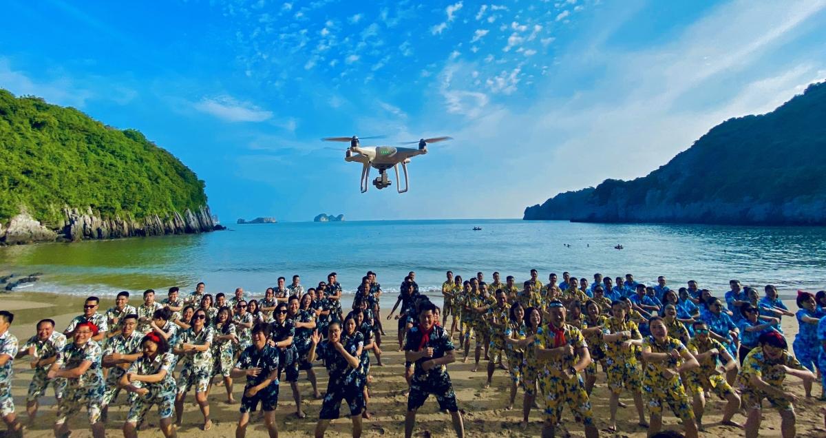 Một sự kiện MICE tổ chức tại đảo Cát Bà, Hải Phòng. Nguồn: Nguồn: VPlus