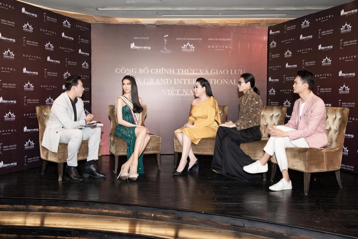 Họp báo công bố Á hậu Ngọc Thảo là đại diện Việt Nam tham dựMiss Grand International.