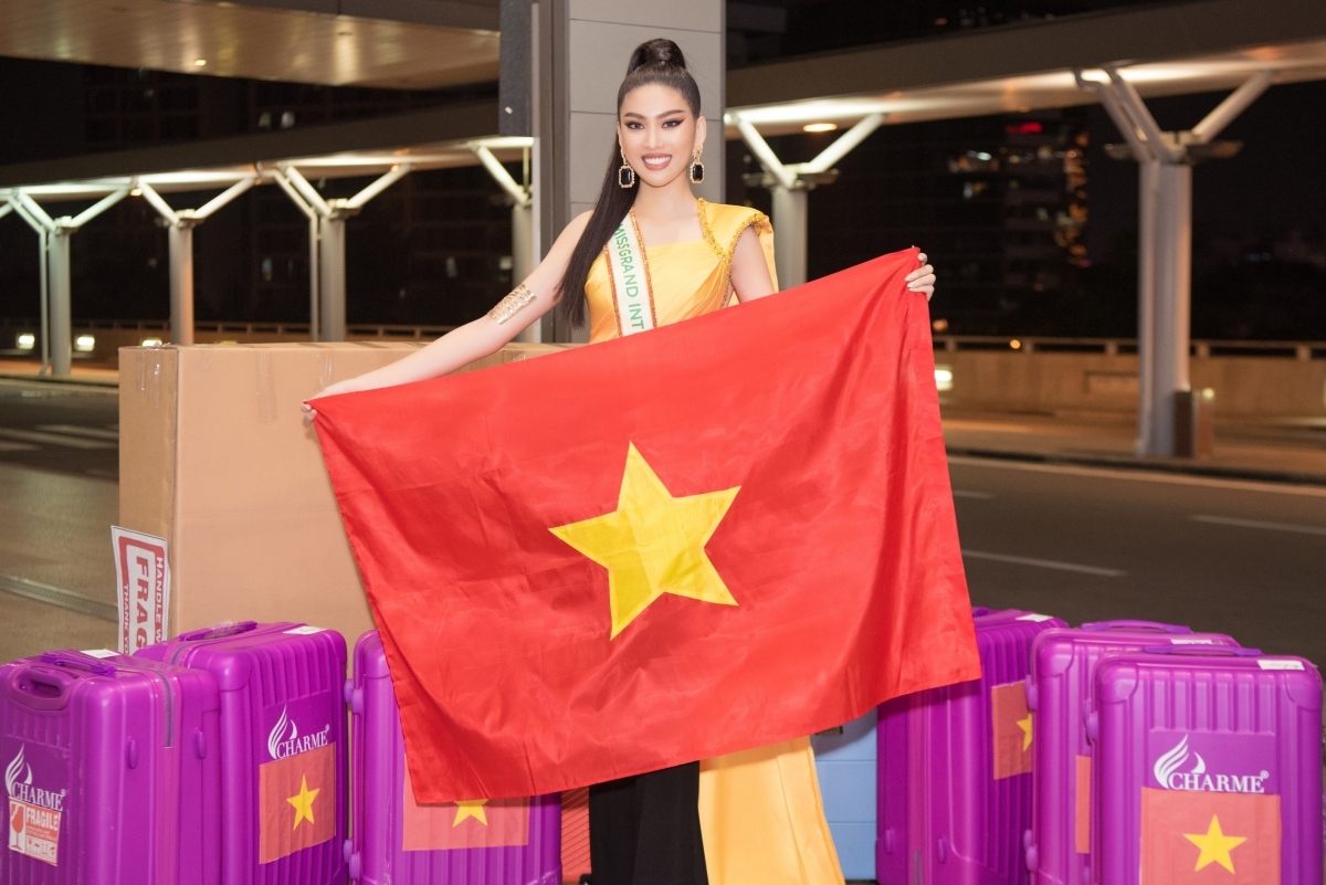 After acquiring the permission to compete at the global pageant, Ngoc Thao, the sole Vietnamese representative at the event, has trained hard for the contest.