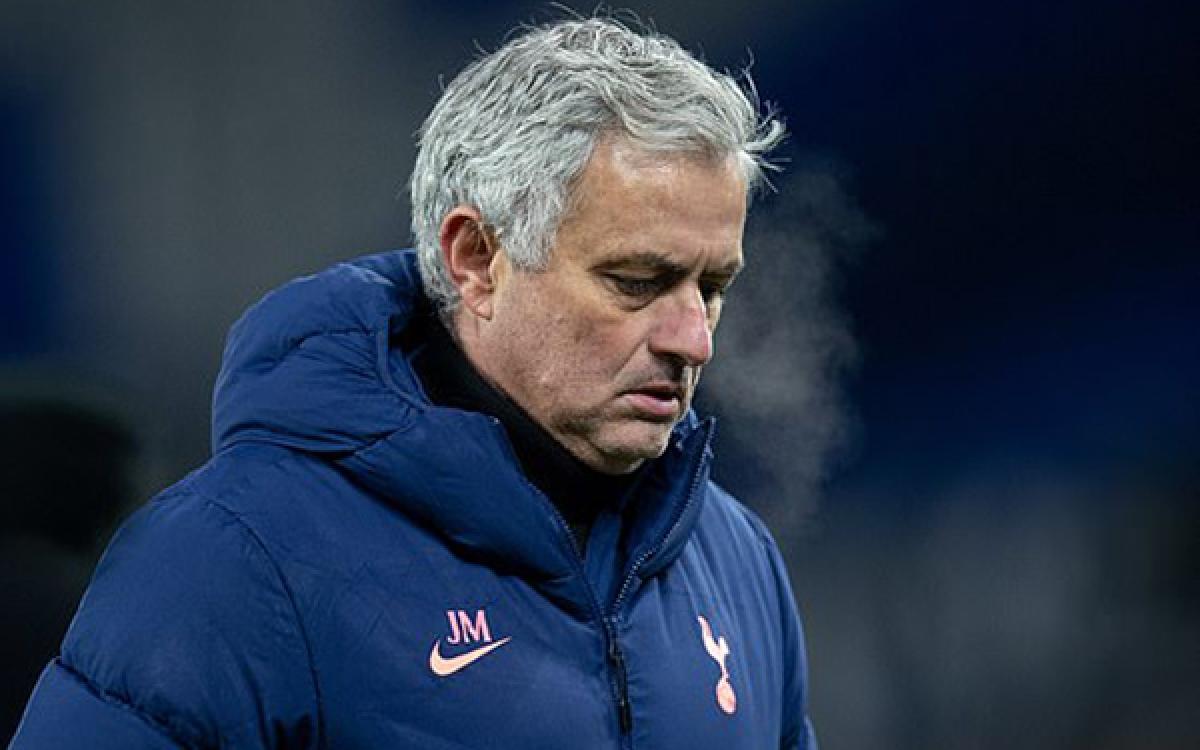 Tottenham của HLV Mourinho đang có phong độ không tốt (Ảnh: REX).