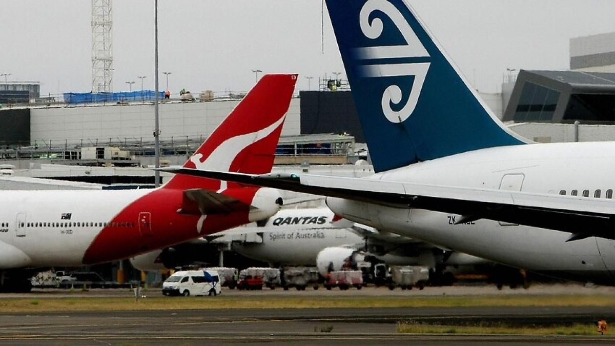 Air New Zealand đặt mục tiêu thử nghiệm hộ chiếu Covid-19 trên các chuyến bay giữa Auckland và Sydney từ tháng 4 tới. Ảnh AFP