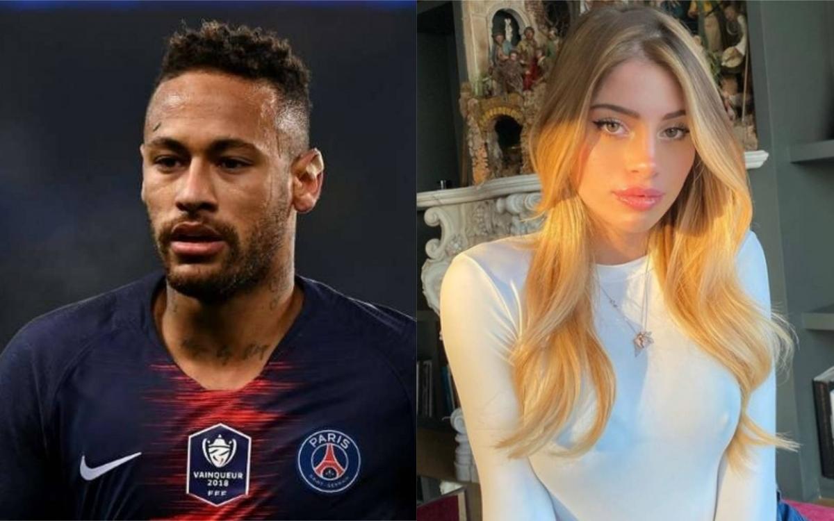 """Neymar dính scandal """"thả thính"""" Chiara Nasti. (Ảnh: Marca)"""