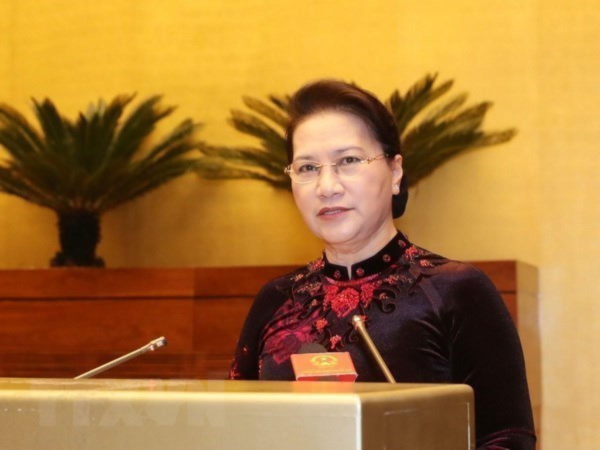 National Assembly Chairwoman Nguyen Thi Kim Ngan (Photo: VNA)