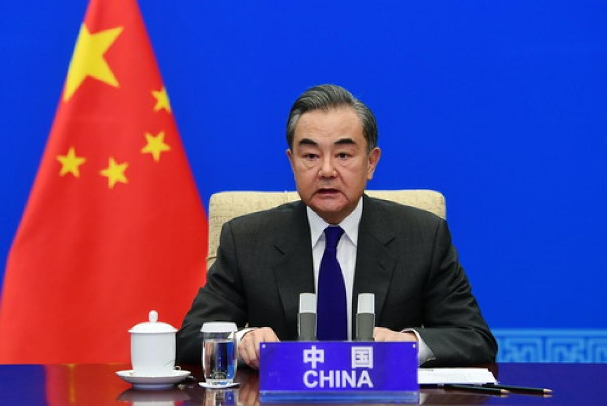 Ngoại trưởng Trung Quốc Vương Nghị. Ảnh: Bộ Ngoại giao Trung Quốc.