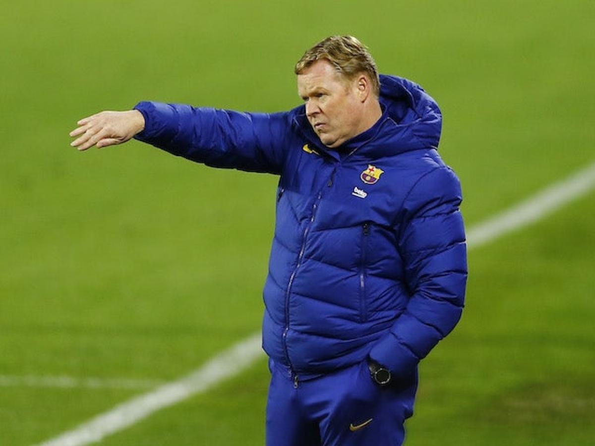 HLV Koeman đang đưa Barca đi đúng hướng (Ảnh: Reuters).