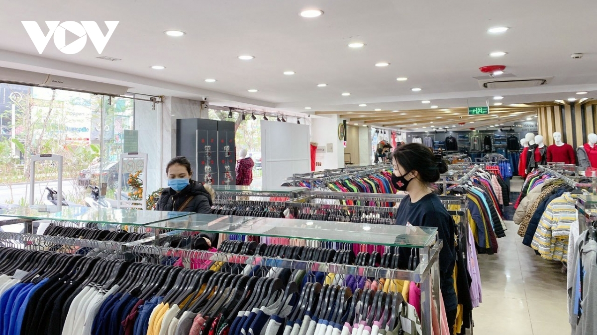 A certain distance is enforced in public places, including at stores