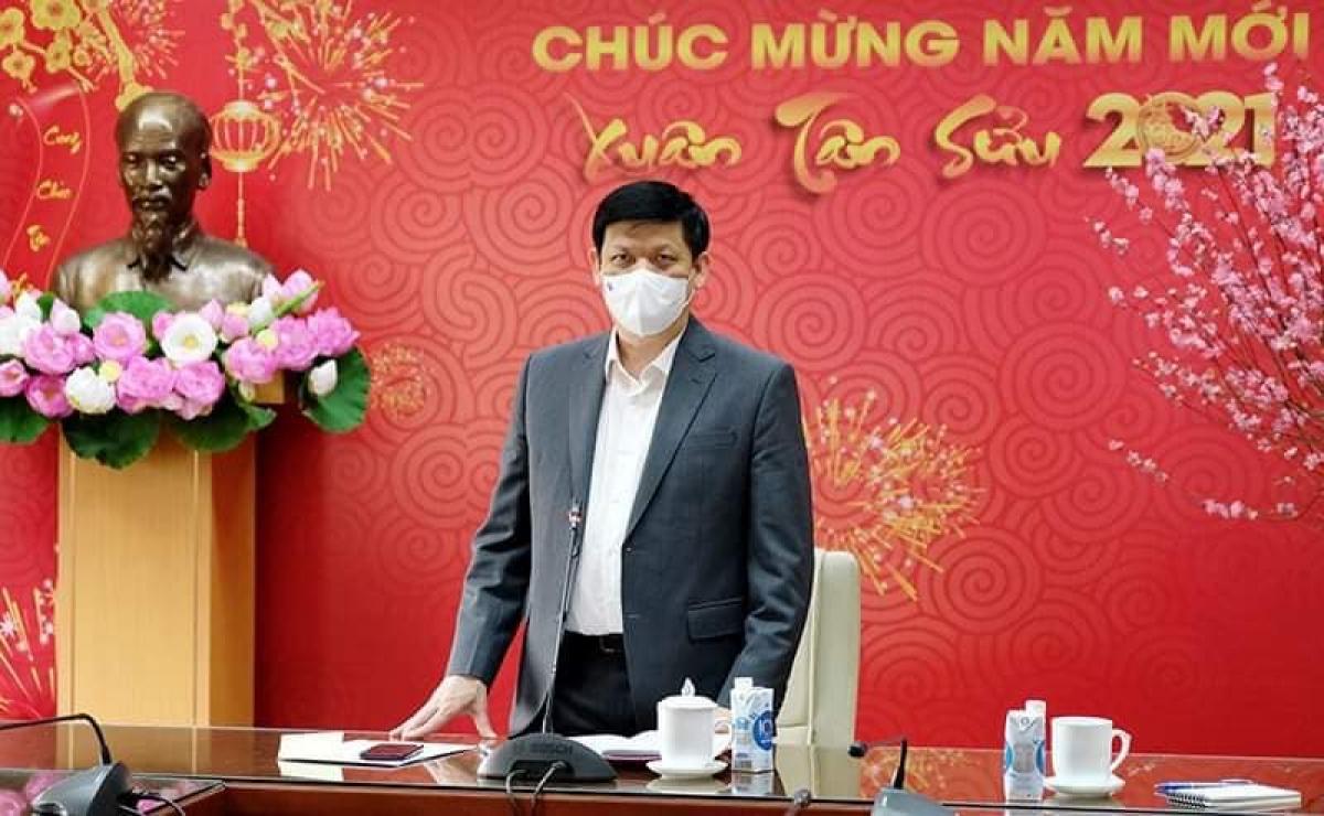 GS.TS Nguyễn Thanh Long, Bộ trưởng Bộ Y tế.