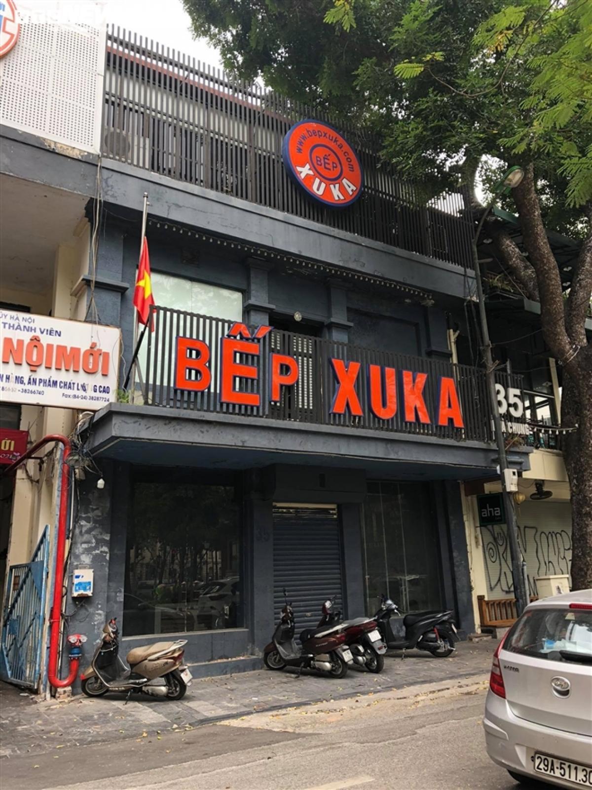 Chuỗi nhà hàng nổi tiếng Bếp Xuka phải đóng cửa tại nhiều địa chỉ.