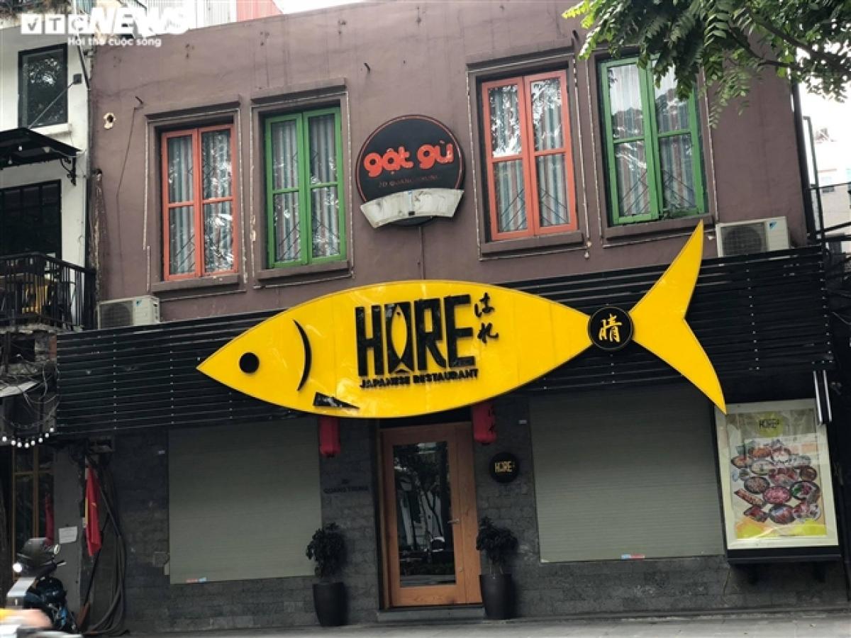 Một cửa hàng lẩu trên phố Nhà Chung.