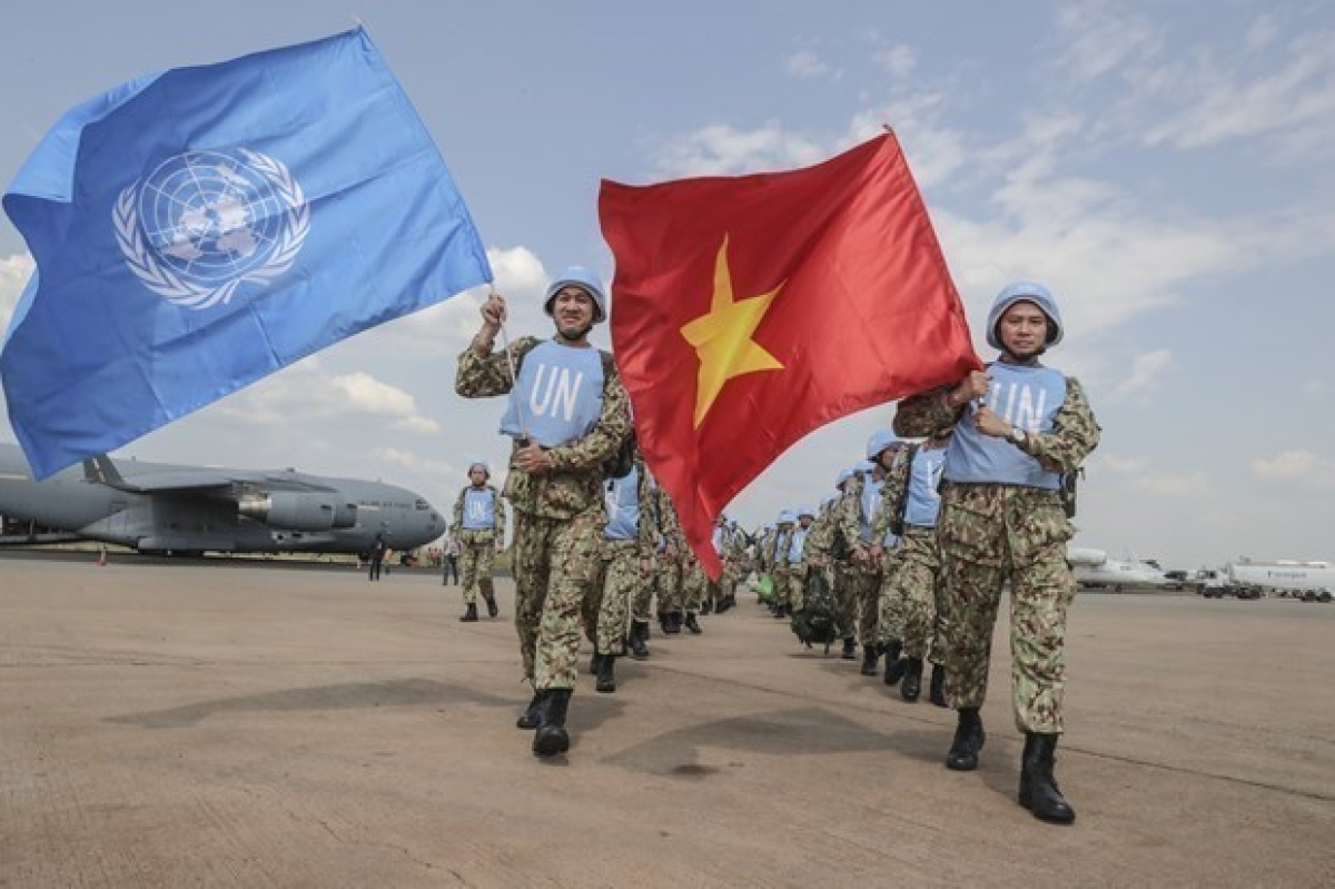 Vietnam has actively joined the UN peacekeeping operations. (Photo: Permanent mission of Vietnam to the UN)
