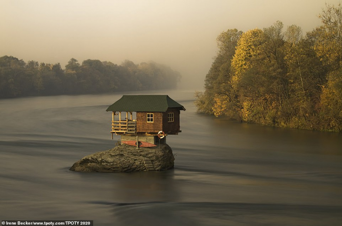 """Hungarian photographer Irene Becker is honoured in the single image category for his work titled """"The River House""""."""