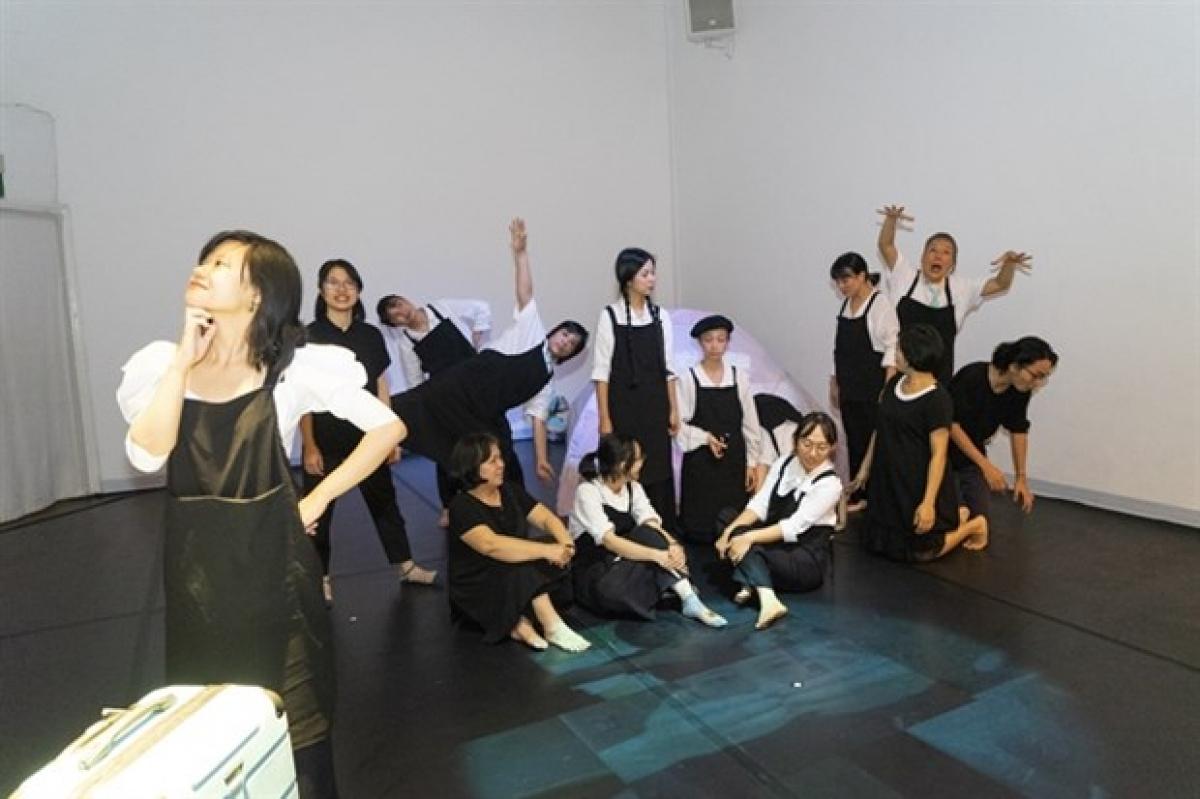Mat TranEnsemblewill perform amultisensory puppet show in the northern province of Ninh Binh. (Photo: mattranensemble.com)
