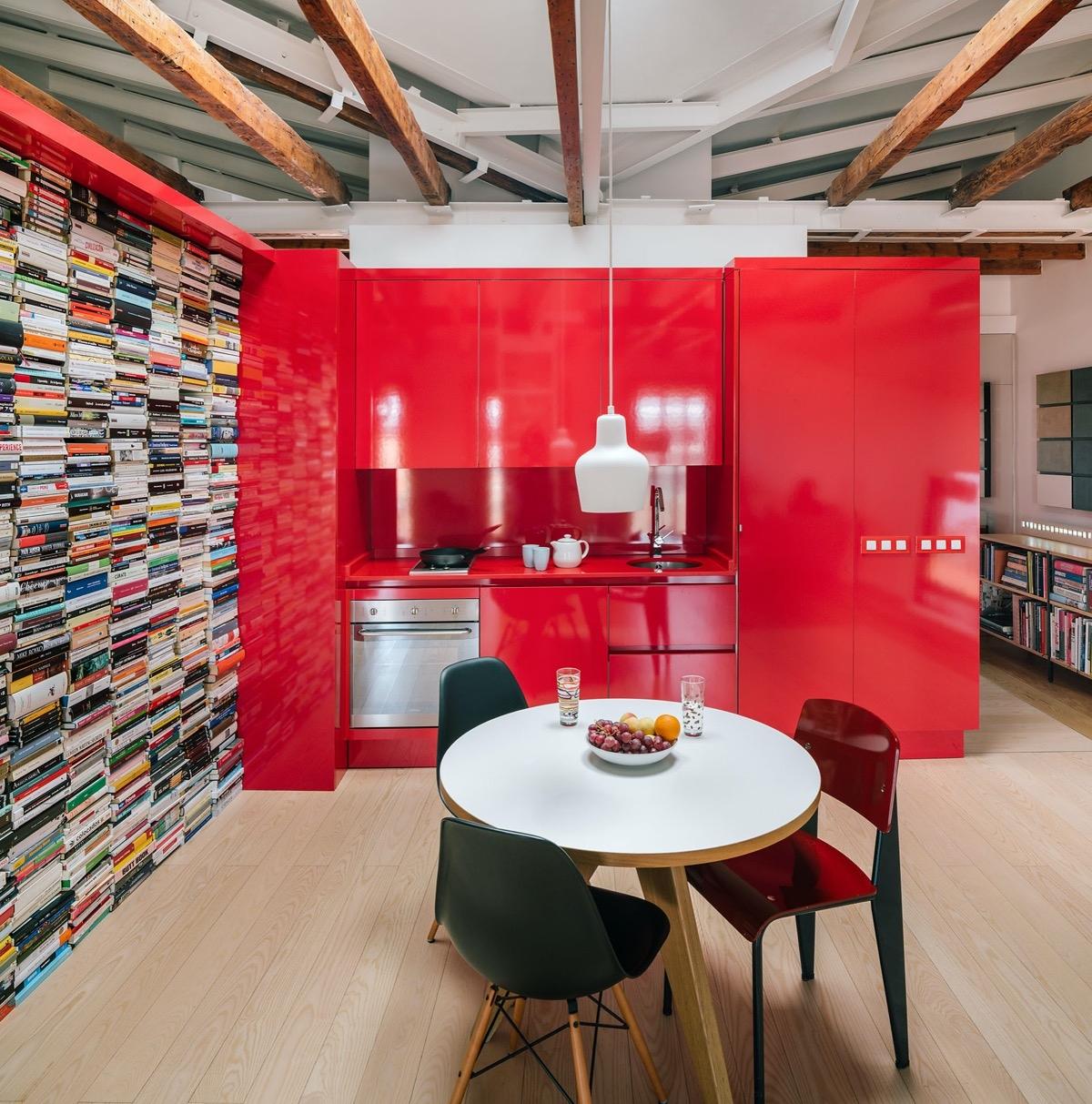 Căm bếp của người yêu sách.