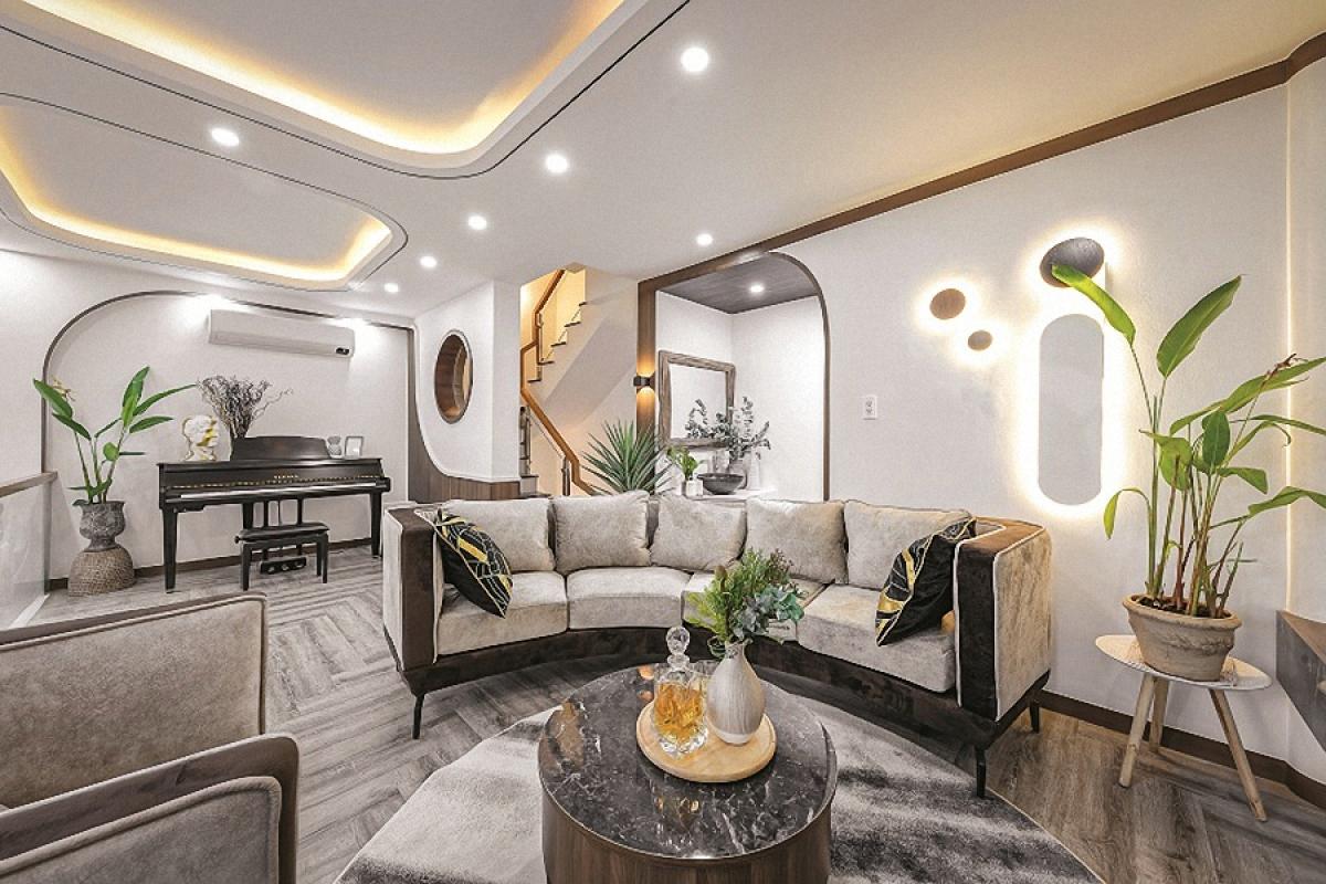 Phòng tắm trên sân thượng theo tiêu chuẩn resort: thoáng – sáng mà vẫn kín đáo; tiện nghi, hiện đại và gần gũi với thiên nhiên./.