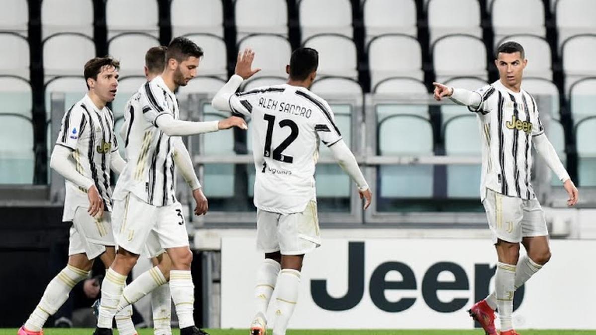 Juventus giành chiến thắng đậm trước Crotone (Ảnh: Reuters).