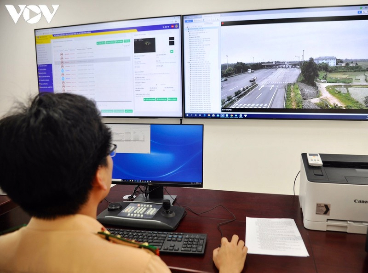 Hình ảnh vi phạm sẽ được báo về hệ thống của trung tâm giám sát.