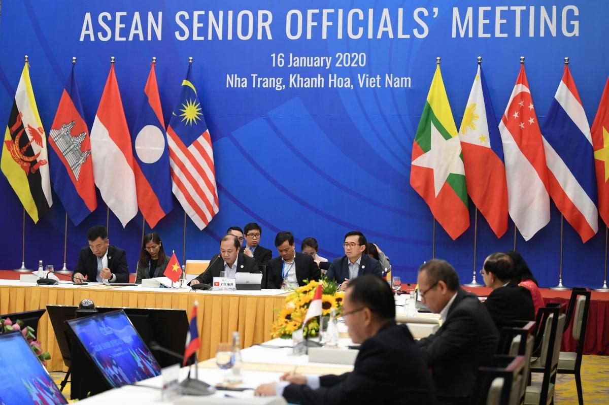 Cuộc họp các quan chức cao cấp (SOM) các nước ASEAN.