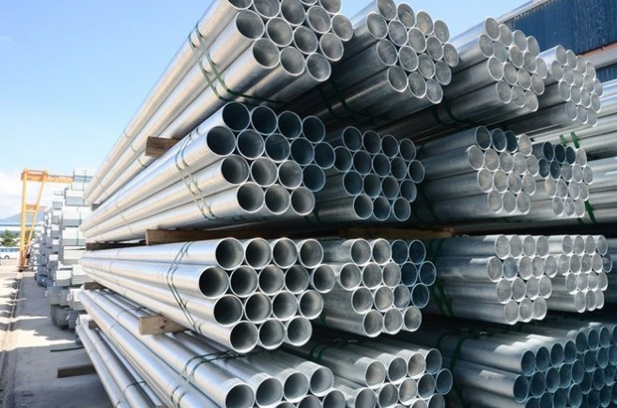 Hoa Phat steel pipes are favourites with Vietnamese consumers (Photo: tinnhanhchungkhoan.vn)