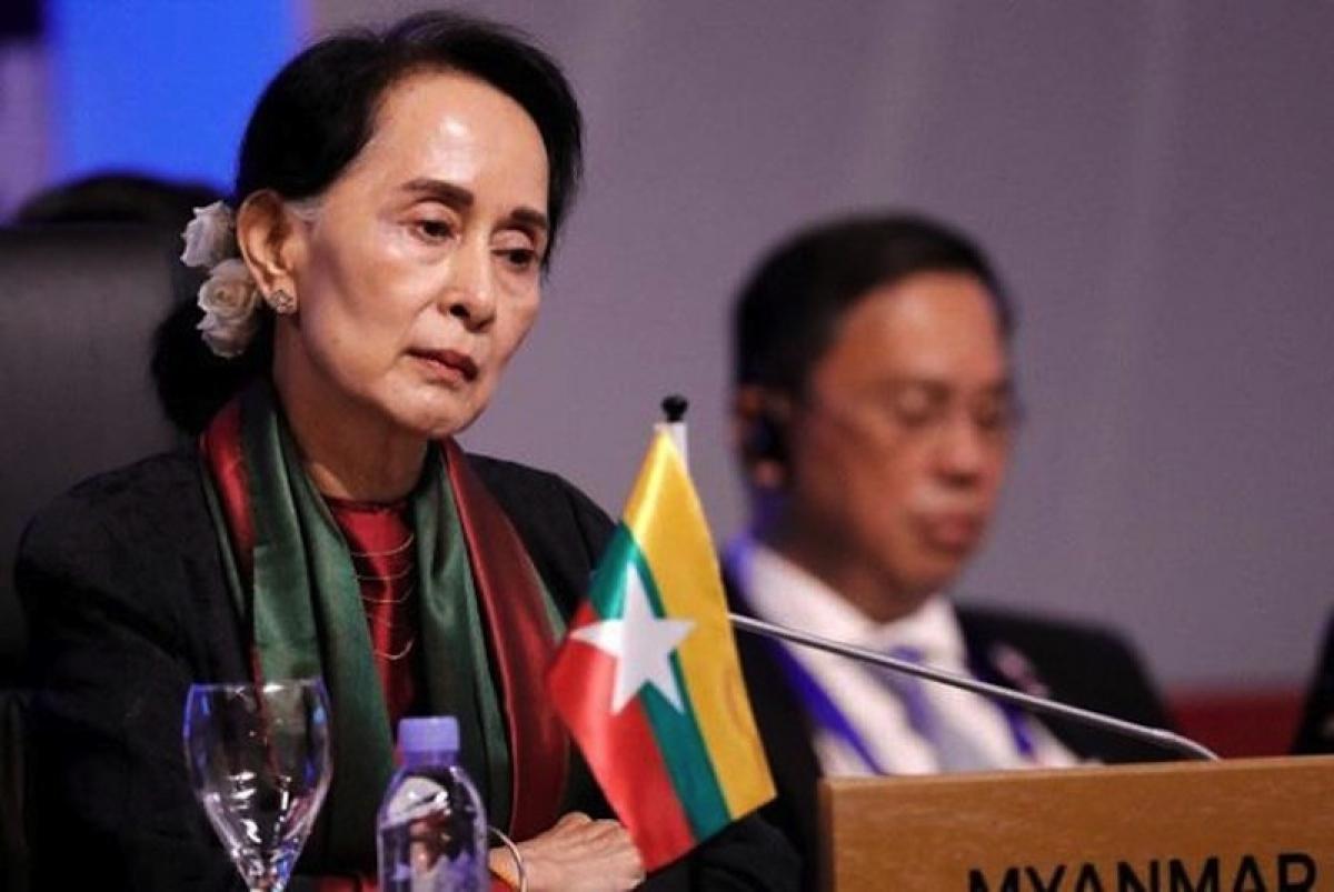 Cố vấn Nhà nước Aung San Suu Kyi. Ảnh: Reuters.