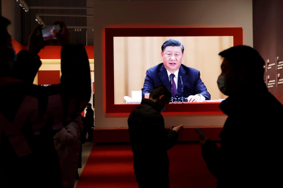 Chủ tịch Trung Quốc Tập Cận Bình tổ chức cuộc họp trực tuyến 17+1 với các nước Trung và Đông Âu đầu tháng 2/2021. Ảnh: Reuters