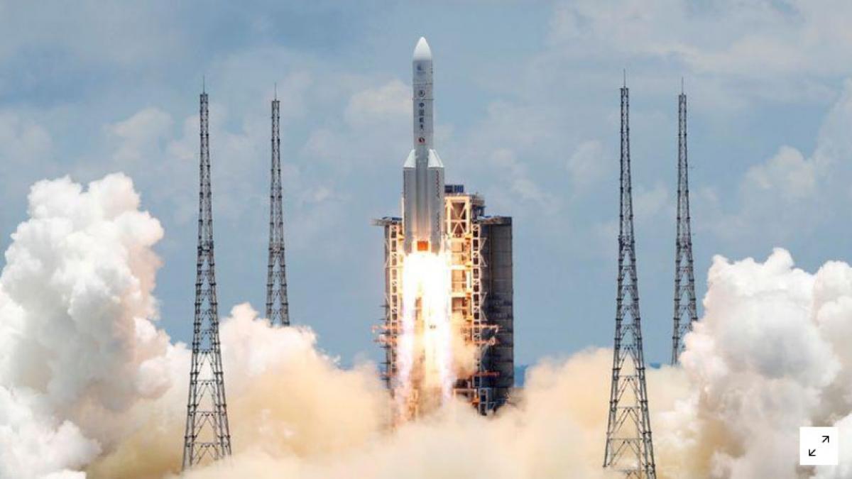 Tàu vũ trụ Thiên vấn 1 của Trung Quốc (Ảnh: Reuters)
