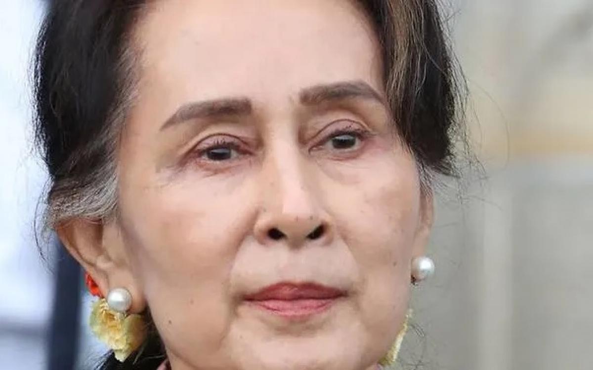 Nhà lãnh đạo MyanmarAung San Suu Kyi. Ảnh: Reuters.