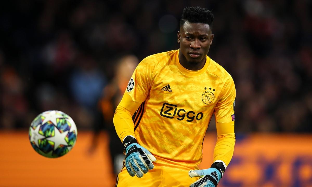 Thủ môn Andre Onana bị UEFA cấm tham gia hoạt động bóng đá trong 1 năm. (Ảnh: Getty)