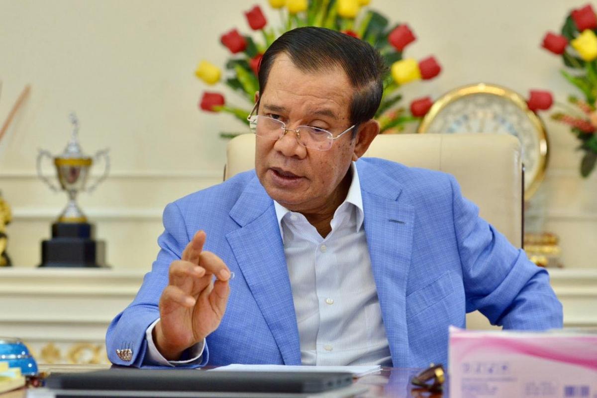 Thủ tướng Hun Sen (Ảnh: Facebook)