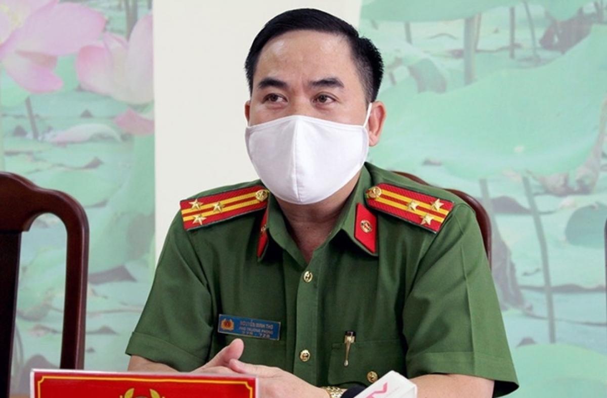 Thượng tá Nguyễn Minh Thơ.