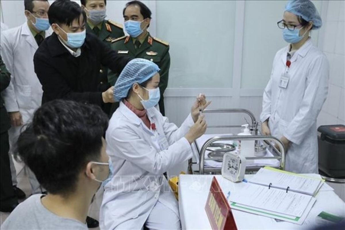 Vietnam has completed the first phase of the human trials of Nano Covax
