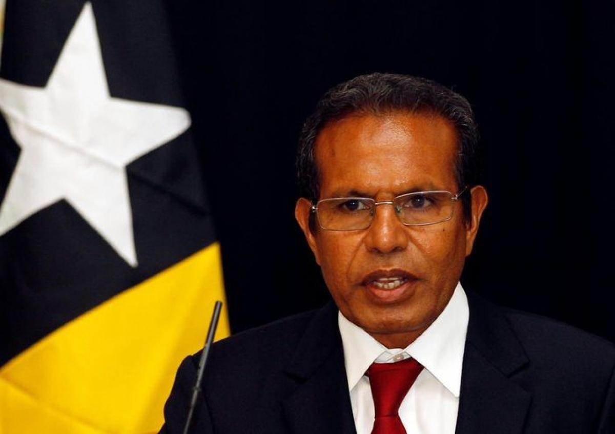 Thủ tướng Timor Leste, ông Matan Ruak. Nguồn: Reuters