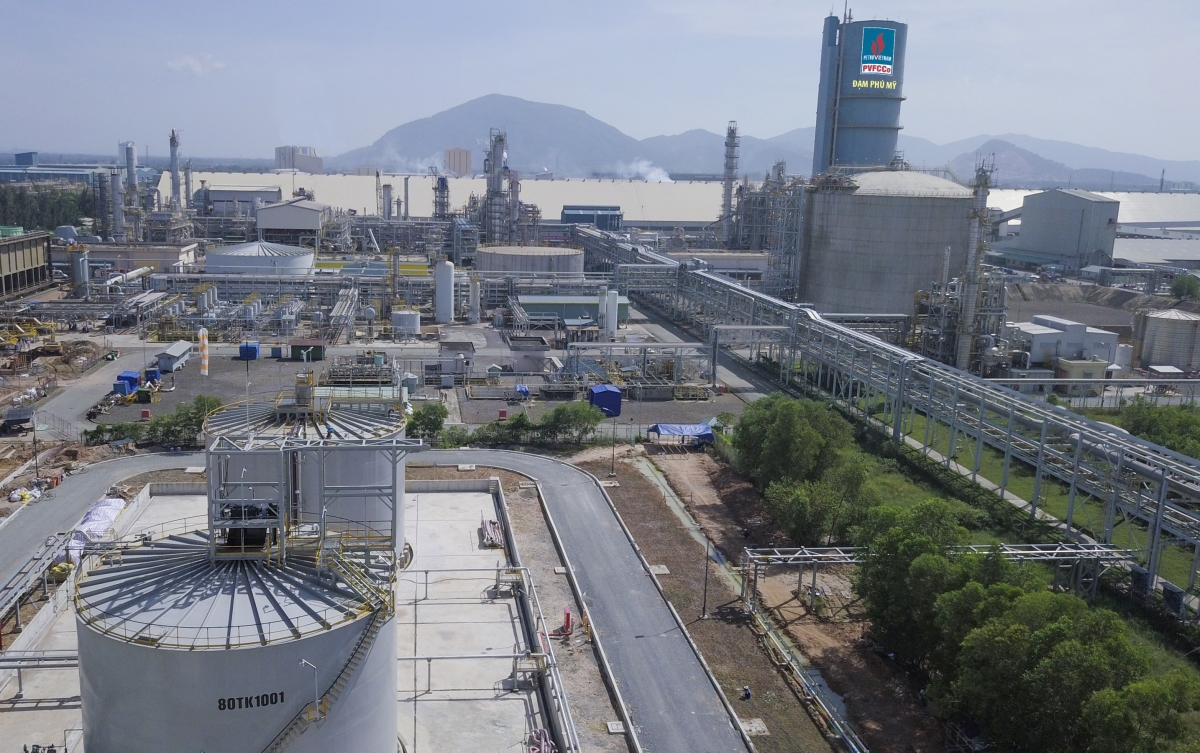 Toàn cảnh Nhà máy Đạm Phú Mỹ