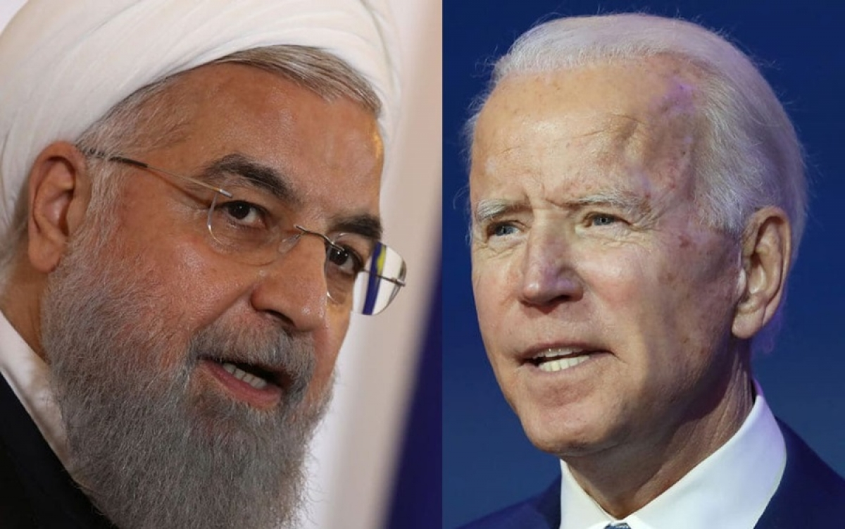 Tổng thống Iran Rouhani và Tổng thống Mỹ Biden. Ảnh: Jewish Journal.