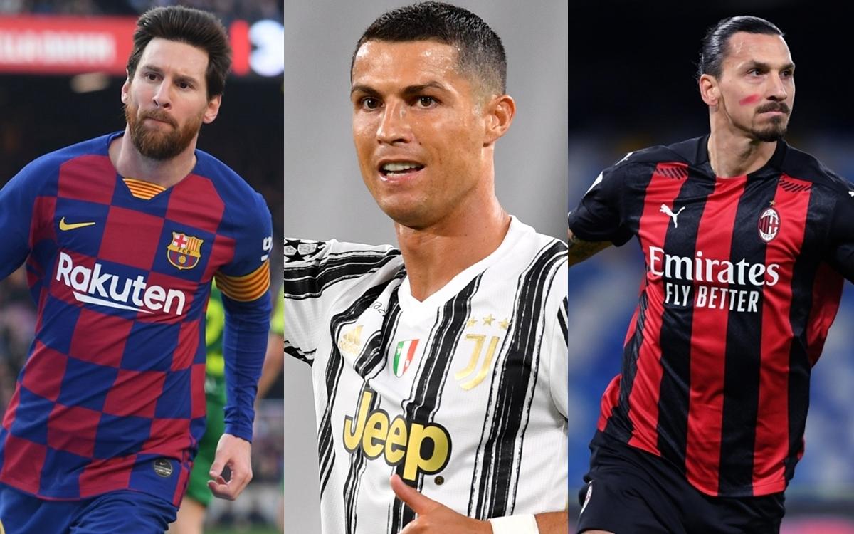 Top 10 chân sút vĩ đại nhất lịch sử Champions League/Cúp C1 châu Âu gồm có: